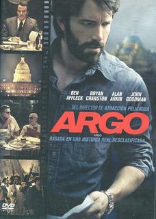 Argo. Pelicula En Dvd. Ben Afleck