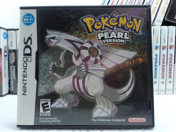 Pokemon Pearl - Nintendo Ds - 12x Sem Juros A Pronta Entrega