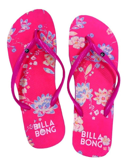 Ojotas Billabong Festival Floral Thong Mujer