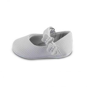 Sapato Comfort Fresh Baby Branco N°15 Ao 21