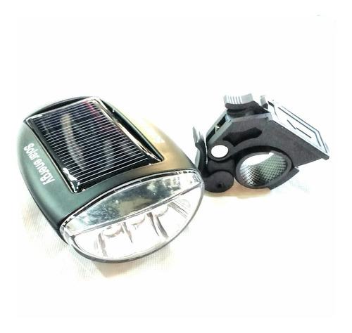 Imagen 1 de 1 de Luz / Destellador Delantero Para Bicicleta X-light Solar