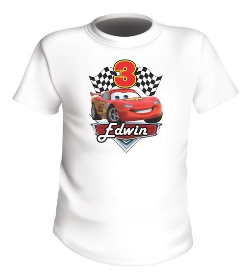 Playeras Cars Infantiles Personalizada