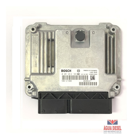 0281012193 Módulo Bosch Iveco Daily Motor F1ce0481