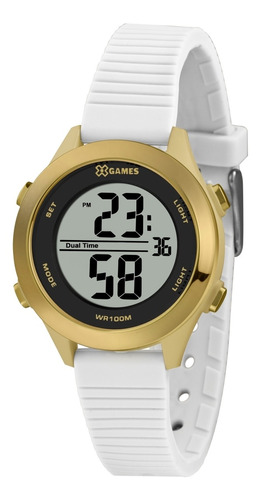 Relógio X Games Feminino Bege Xfppd086 Pxtx
