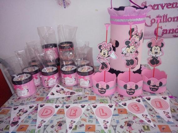 Cotillon + Souvenirs Mdf Minnie Mickey