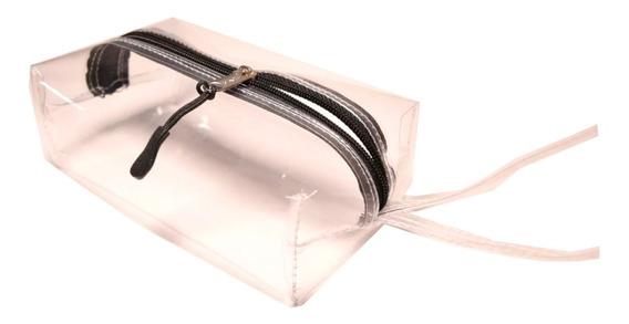 Neceser-porta Cosmeticos-cartuchera-transparente-cristal