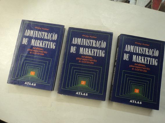 Administração De Marketing - Philip Kotler - 3 Volumes