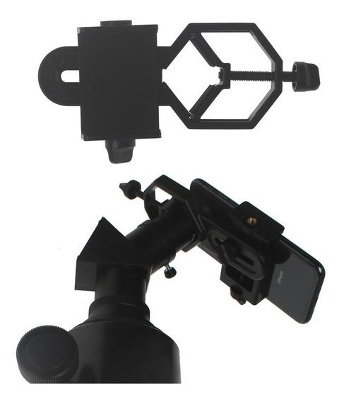 Adaptador De Celular Para Microscópio E Telescópio Universal