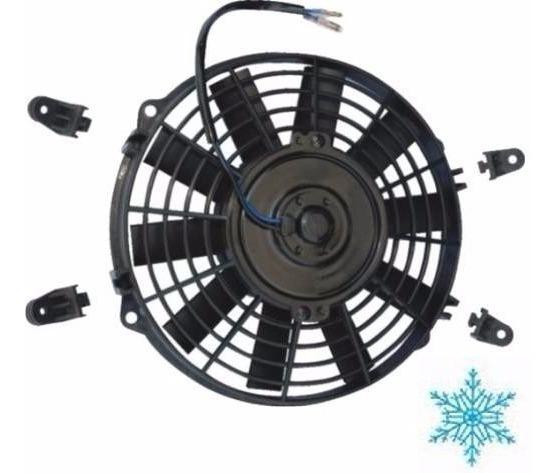Eletro Ventilador Ar Condicionado Universal 9 Polegadas 12v