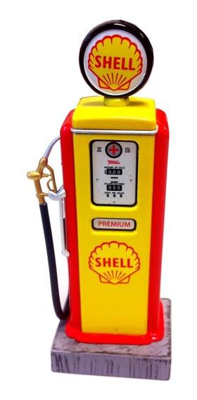 Miniatura Shell Fuel Pump Bomba De Gasolina Diorama 1/18