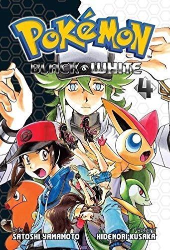 Pokémon Black & White 4 Panini Comics Novo Lacrado