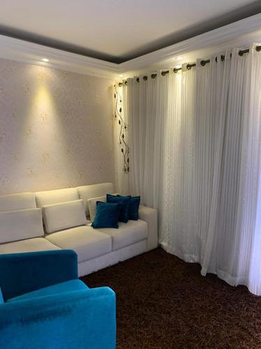 Apartamento Em Jardim Guapituba, Mauá/sp De 86m² 2 Quartos À Venda Por R$ 375.000,00 - Ap953683