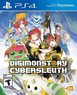 Digimon Story Cyber Sleuth Nuevo Fisico Sellado Ps4