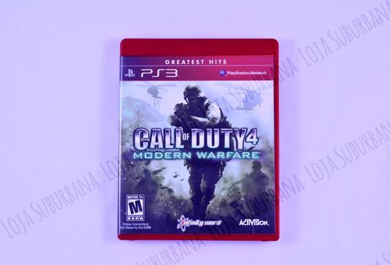 Call Of Duty 4: Modern Warfare Ps3 Raro Ótimo Estado