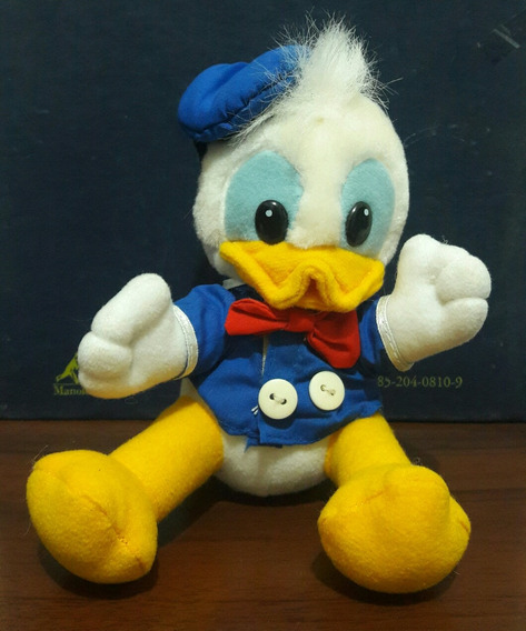 Pelúcia Pato Donald Disney Original Antigo