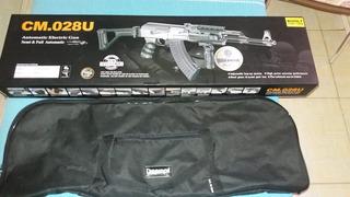 Rifle Eletrico Semi Metal Air Soft Ak 47 Cm. 028u Da Cyma