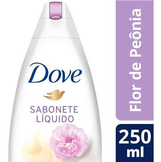 Sabonete Líquido Nutritivo Creme E Flor De Peônia Dove Delic