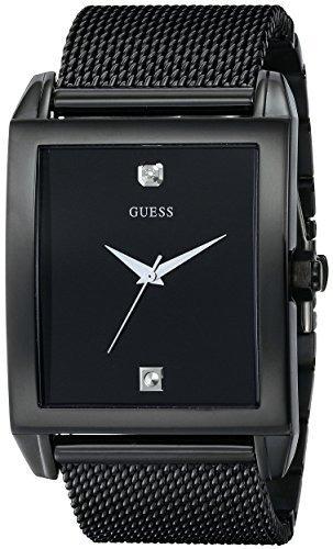 Reloj De Hombre Con Esfera De Acero Inoxidable Guess, Color: