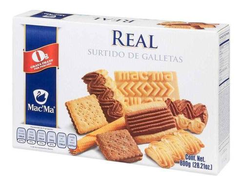 Galletas Mac'ma St. Real Surtido De 800 Grs