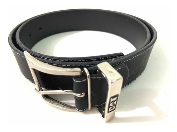 Cinturon Negro Cuero Economico Buena Calidad Nuevo 906ju2
