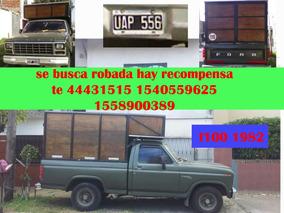 Robada Busca Camioneta Robada Ford F100 En Moron Color