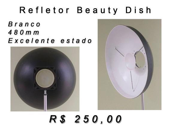Refletor Beauty Dish - Branco