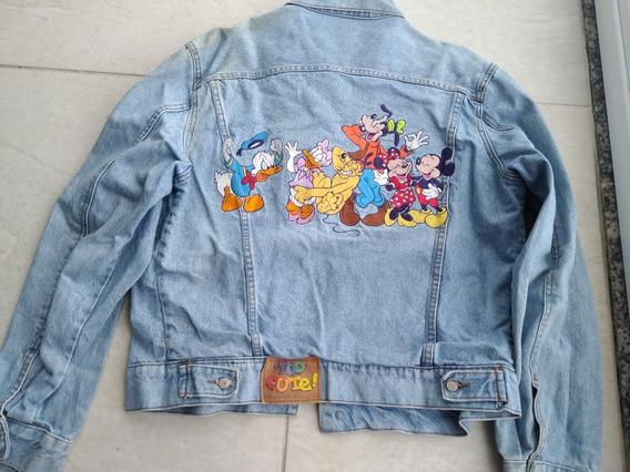 Maravilhosa Jaqueta Jeans Original Da Disney