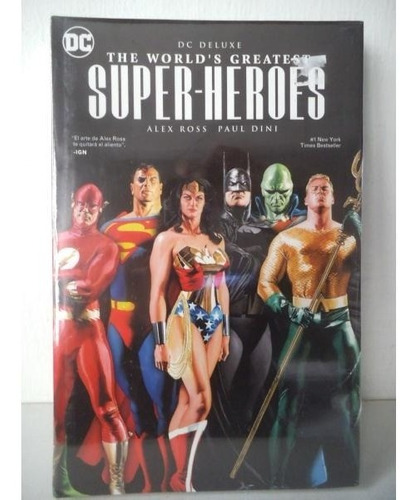 The Worlds Greatest Super Heroes Dc Deluxe Alex Rox Televisa