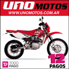 Motomel X3m 125 Cc Enduro Cross Motocross