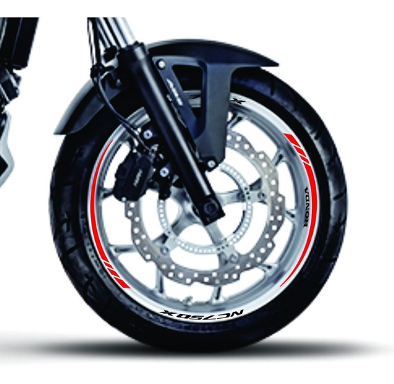 Kit Adesivo Friso Moto Honda Nc750x Person. Frete Grátis
