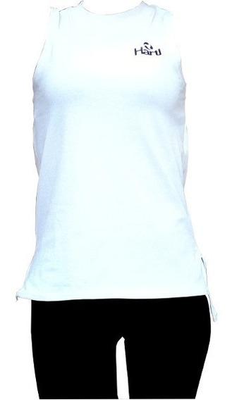 Id398 Musculosa Mujer Blanca Hartl Algodon Jersey