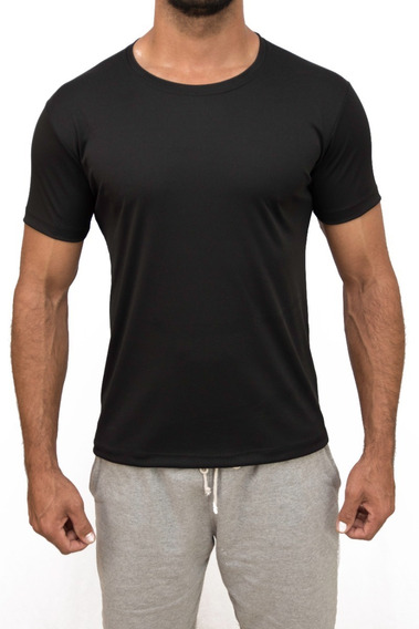Kit 5 Camisetas Com Manga Slim Fit Academia Fitness Esporte