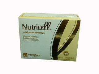 Complemento Alimenticio Nutricell 60 Tabletas- 22597 Maf