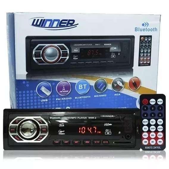 Mp3 Player Bluetooth Radio Fm Usb Aux Mais Vendido 2019