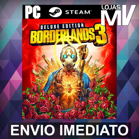 Borderlands 3 Deluxe - Pc Steam Gift Presente