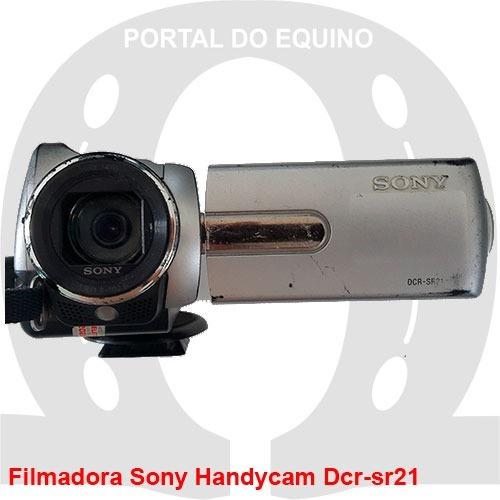 Filmadora Sony Handycam Dcr-sr21