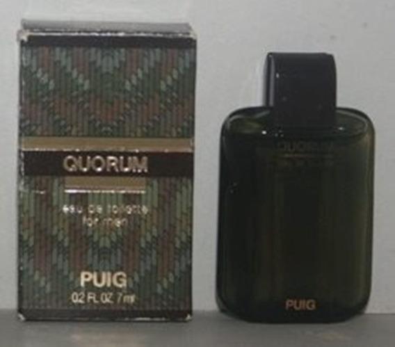 Miniatura De Perfume: Antonio Puig - Quorum - 7 Ml - Edt 2