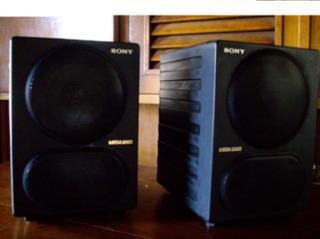Bafles Sony Mega Bass Speaker System