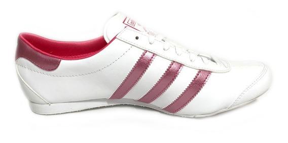 Tenis adidas G 95422 Blanco Rosa Para Dama