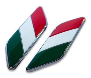 Insignia Bandera Italiana Fiat 500 07/18