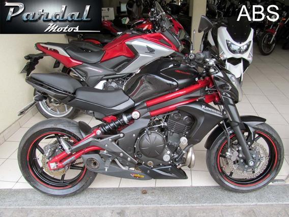 Kawasaki Er 6n Abs 2015 Preta