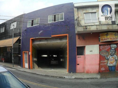 Galpão Comercial Para Locação, Itaberaba, São Paulo. - Ga0154