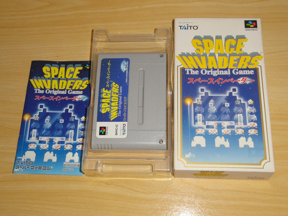 Space Invaders Super Famicom Super Nintendo Japan