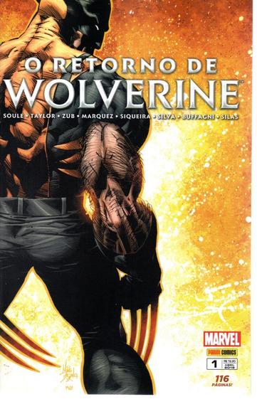 O Retorno De Wolverine 1 - Panini 01 - Bonellihq Cx311 E19
