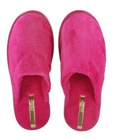 Chinelo Pantufa Feminina Moleca -5427.100 Preto/pink/marinho