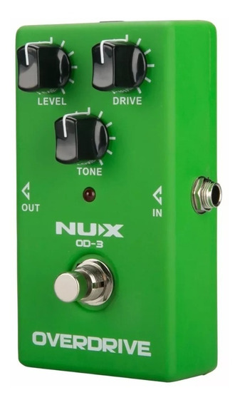Pedal Guitarra Clássico Overdrive Tube Screamer - Nux Od-3