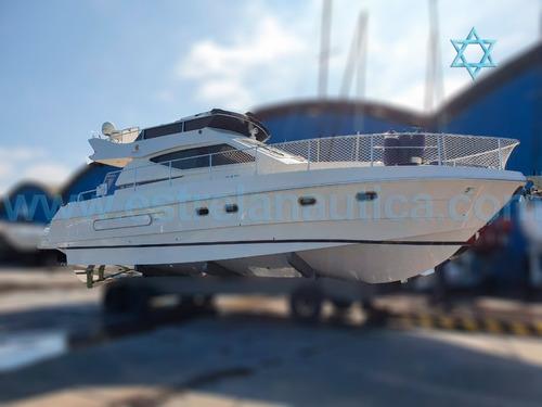 Lancha Ferretti 40 Barco Iate N  Azimut Intermarine Phantom