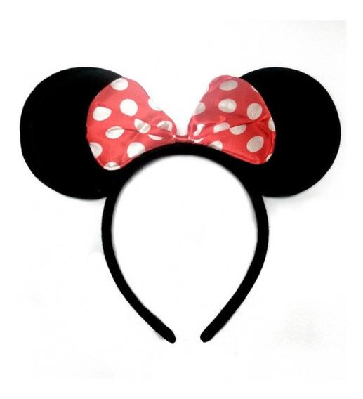 12 Diademas De Mickey Mouse Mimi Economicas Orejas