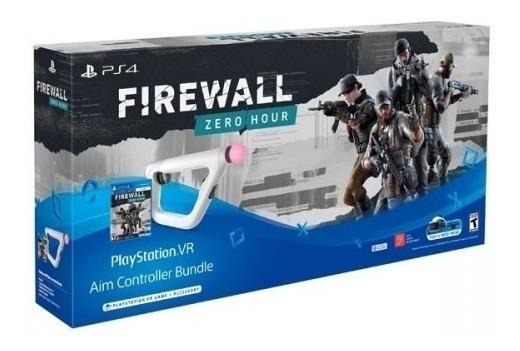 Pistola Aim Controller Firewall Zero Hour Bundle Ps4 + Nf-e