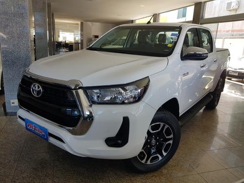 Toyota Hilux Srv 2.8 Diesel 4x4 Automatica 2021/2021 Branca.